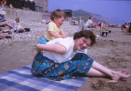 04 Mum and Wendy on beach
