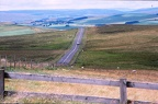 50 Looking north-east to Elsdon and Scottish border